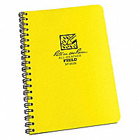 """Rite in the Rain""® Field, Spiral Pocket-Sized Notebook, 7""H x 4-5/8""W, 64 Pages - 197267"