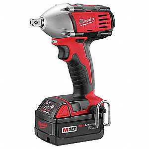 Compact Cordless Impact Wrench Kit