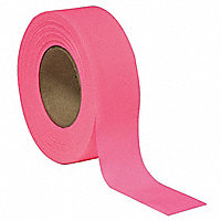 BEN MEADOWS™ Texas Glo Roll Flagging Tape, Fluorescent Pink - 174554
