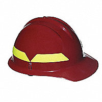 BULLARD WILDFIRE® Wildland Fire Fighter's Helmets, Front Bill - 131500Y