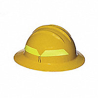 BULLARD WILDFIRE® Wildland Fire Fighter's Helmets, Full Brim - 133544Y