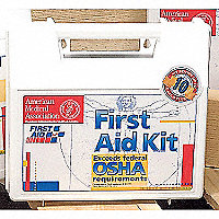 Industrial First Aid Kit, 10 Person - 52592