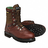 "WOLVERINE® Waterproof Insulated 8""H Boots, Men's Size 12, Wide Width (EE) - 105245-12"