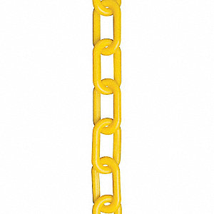 Mr. Chain Plastic Chain, Yellow, 2 In x 50 ft at Sears.com