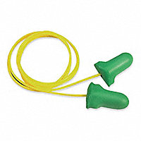 Howard Leight MAX Lite® Earplugs, Corded, Box of 100 Pairs - 16502