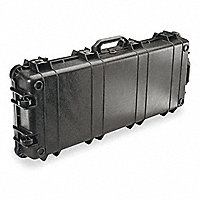 "PELICAN™ 1700 Travel Vault Instrument Case, Black, 13-3/4""W x 35-3/4""L x 5-1/4""D - 53117BL"