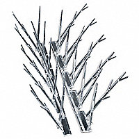 BIRD-X Plastic Bird Repellent Spikes, 25'L - 40399