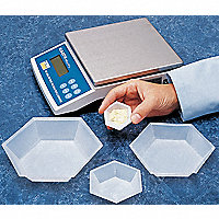 Disposable Hexagonal Weigh Boats - 41443