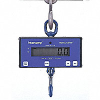"INTERCOMP® Digital Hanging Scale, 500-lb./250kg Capacity, 1"" Display - 65042"