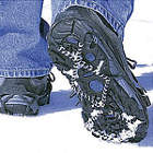 Ice Grips and Snowshoes