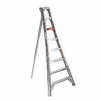 Stokes Orchard Tripod Ladder, 14'H - 146895