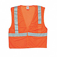 ML KISHIGO ANSI Class 2 Mesh Reflective Vests with Hook-and-Loop Closure - 157888M