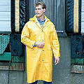 RIVER CITY GARMENTS PVC/Polyester Raincoat - 8379L