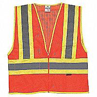 ML KISHIGO Mesh Contrasting Class 2 Reflective Vests - 157898M