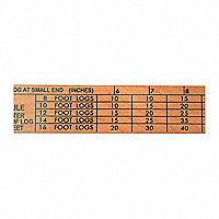 International Tree and Log Scale Stick - 121614