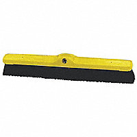 "Rubbermaid® 24""W Plastic Foam Push Broom, Medium Poly Fill - 29340"