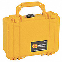 "PELICAN™ 1120 Guard Box™ Protector Case, Yellow, 4-7/8""W x 7-3/8""L x 3-1/16""D - 49134Y"