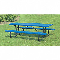 Plastisol Picnic Tables - 58310B